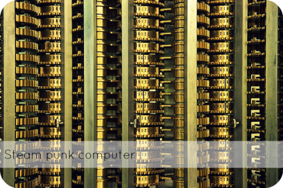Babbage's difference engine.